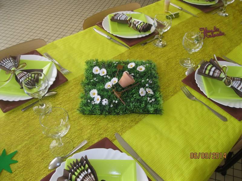 Decoration Table Pour Depart En Retraite