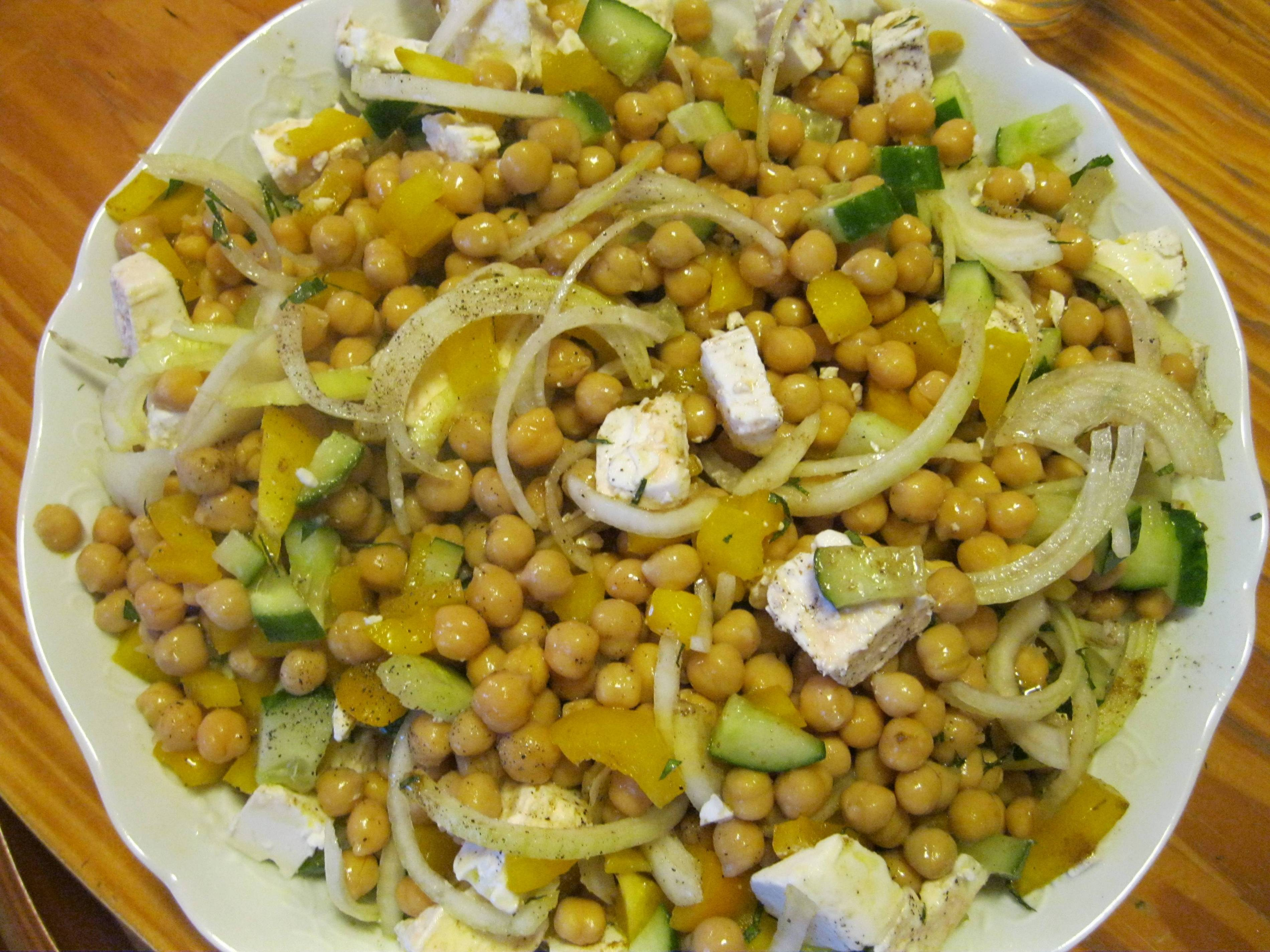 Salade page 2 - Cuisiner des pois chiches ...